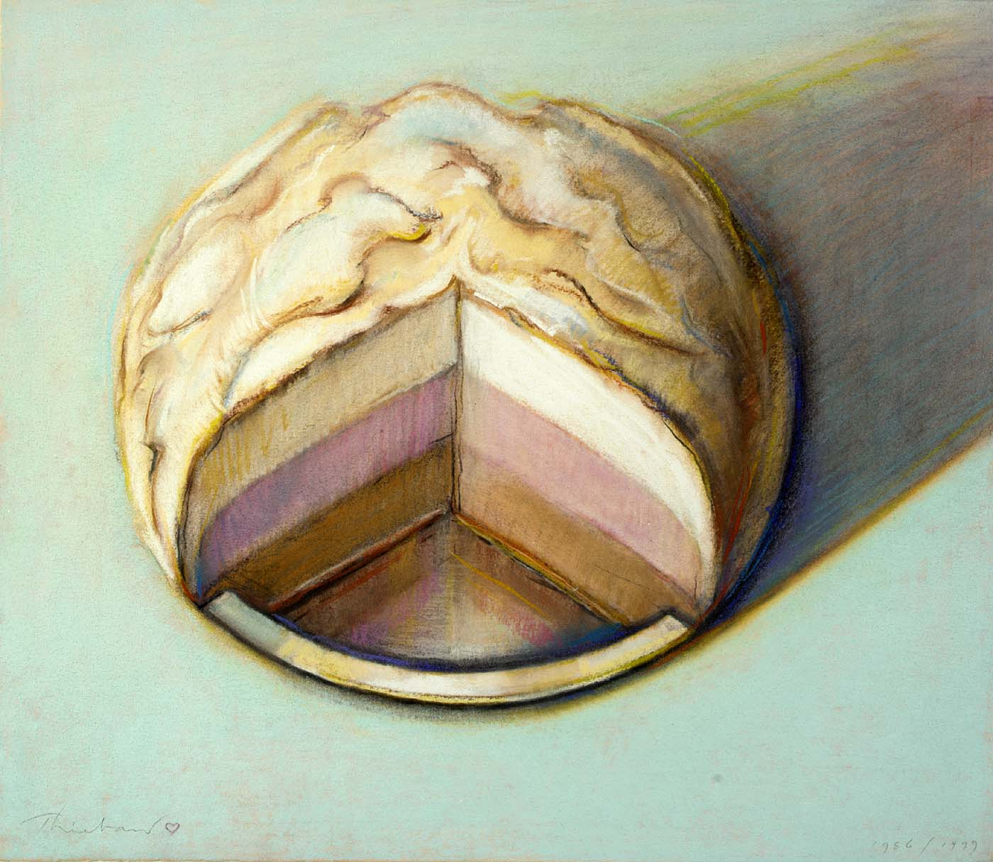 Cake Artist 4 You : WA DIGITAL DRAWING: Wayne Thiebaud