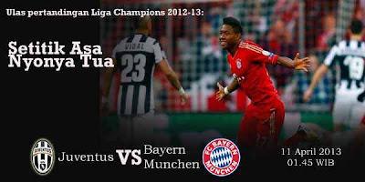 Juventus vs munchen Prediksi Skor Juventus vs Bayer Munchen Leg 2 Liga Champions (Kamis, 11 April 2013) http://beritaterbaru24.blogspot.com/