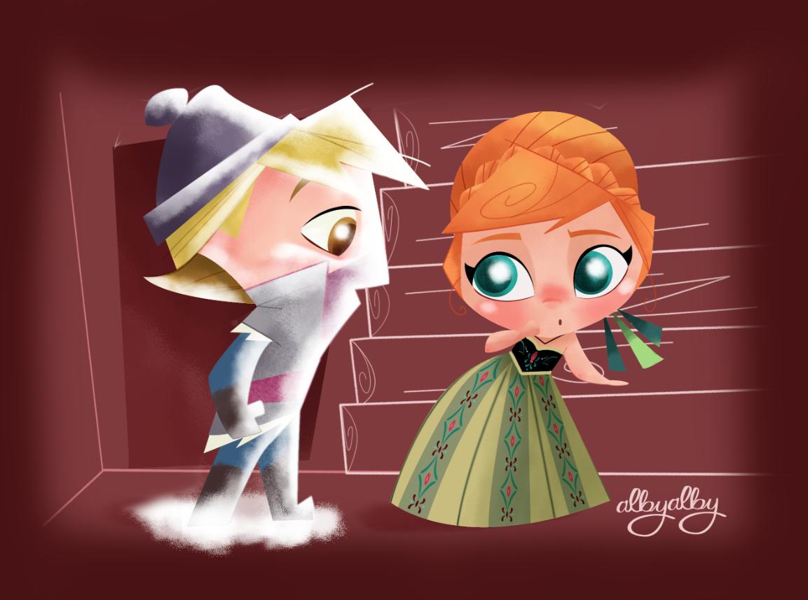 Disney frozen kristoff and anna consider, that