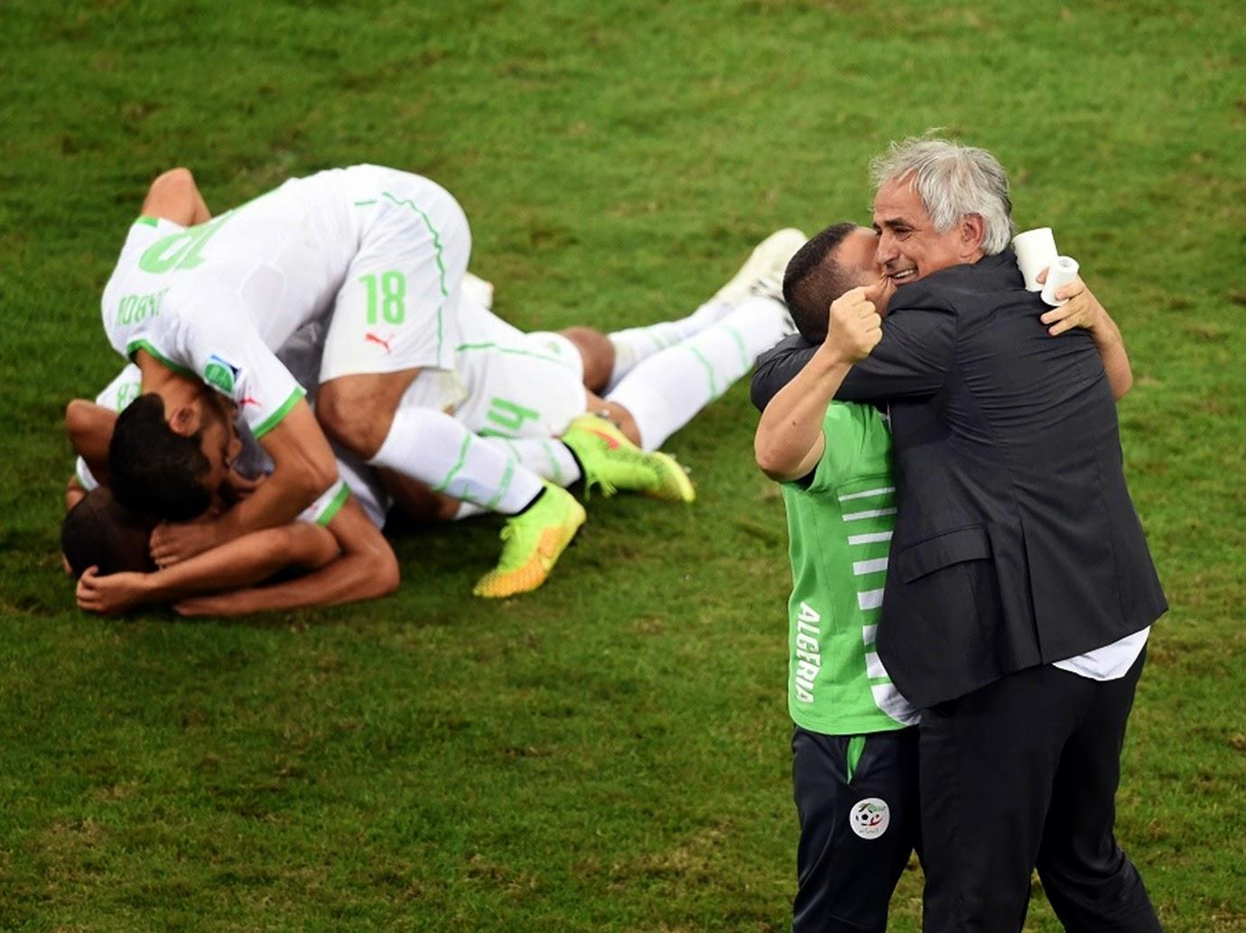 تأهل الجزائر