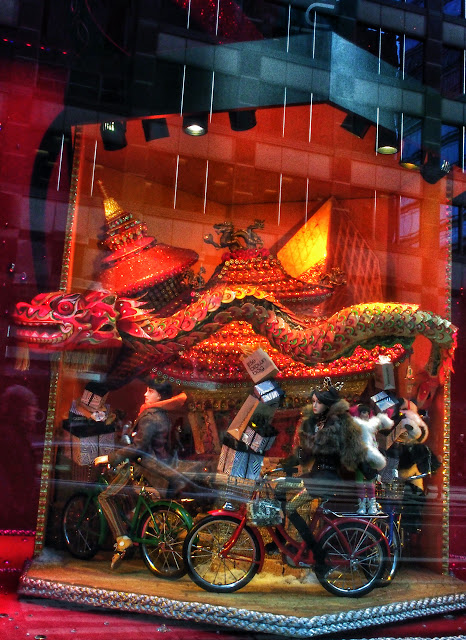China as Imagined by Bloomingdales, New York City, #holidaywindows