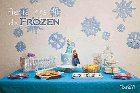 Mar vi blog fiesta infantil de frozen - Fiesta cumpleanos 8 anos ...