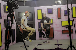Exclusive Pictures From Gee4 Interview With Jason On Rhythmz Show.