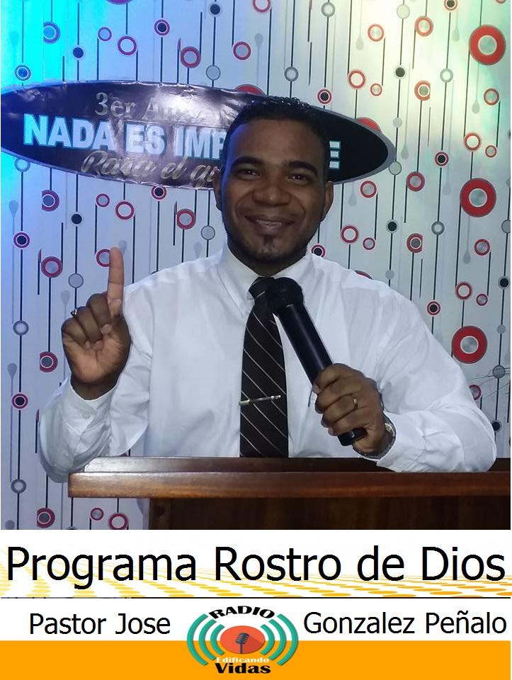 Programa Rostro de Dios todos los sabado de 3 a 5 de la mañana y de 6 a 7 de la tardes