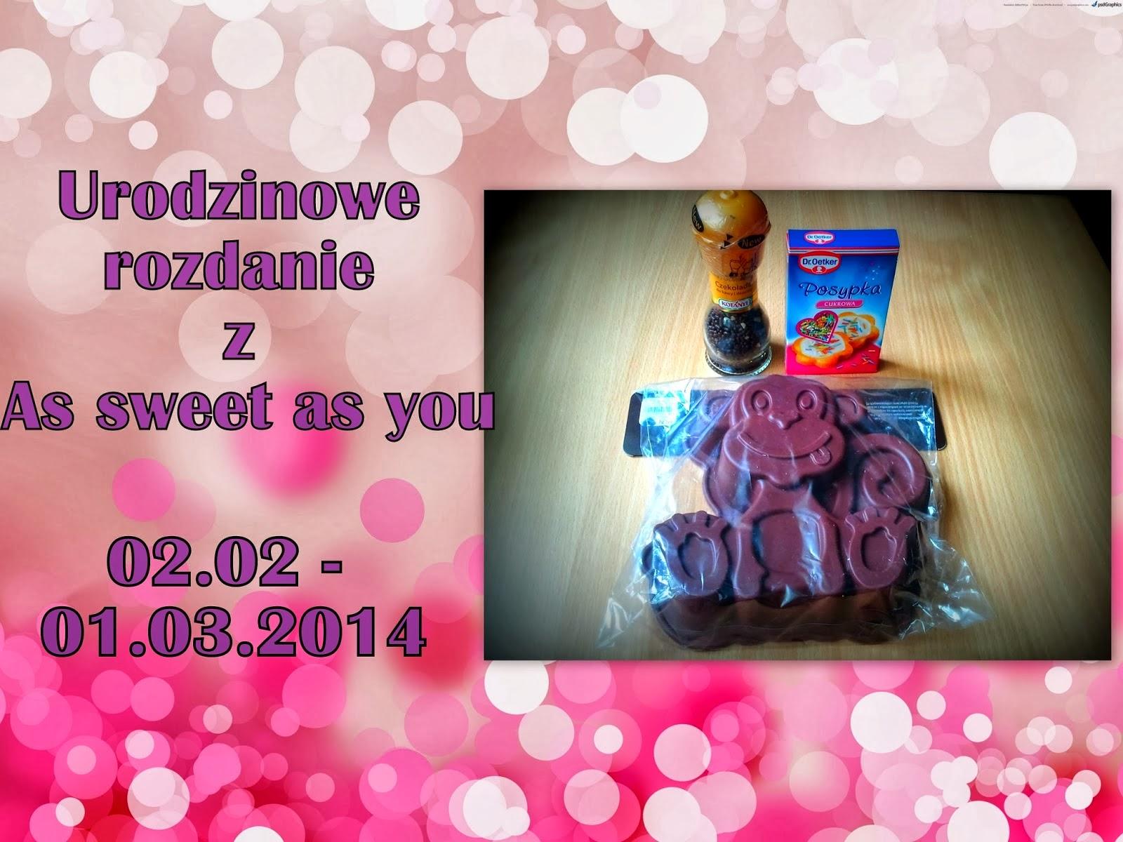 http://assweetasyou.blogspot.com/2014/02/pierwsze-urodziny-as-sweet-as-you.html
