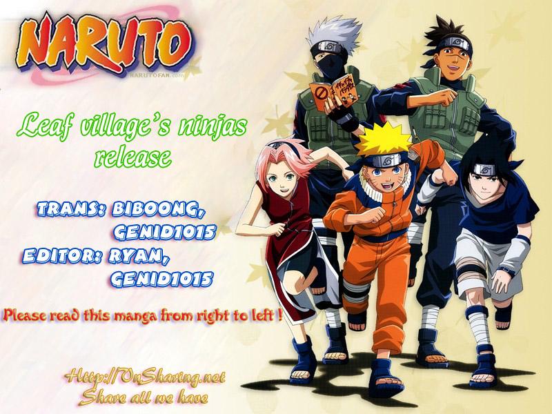 Naruto chap 420 Trang 8 - Mangak.info