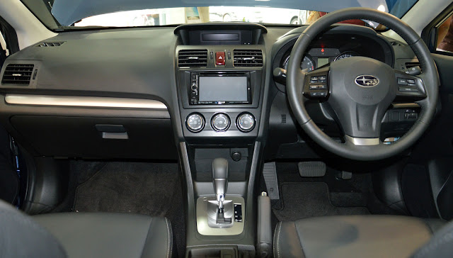 Subaru XV Interior