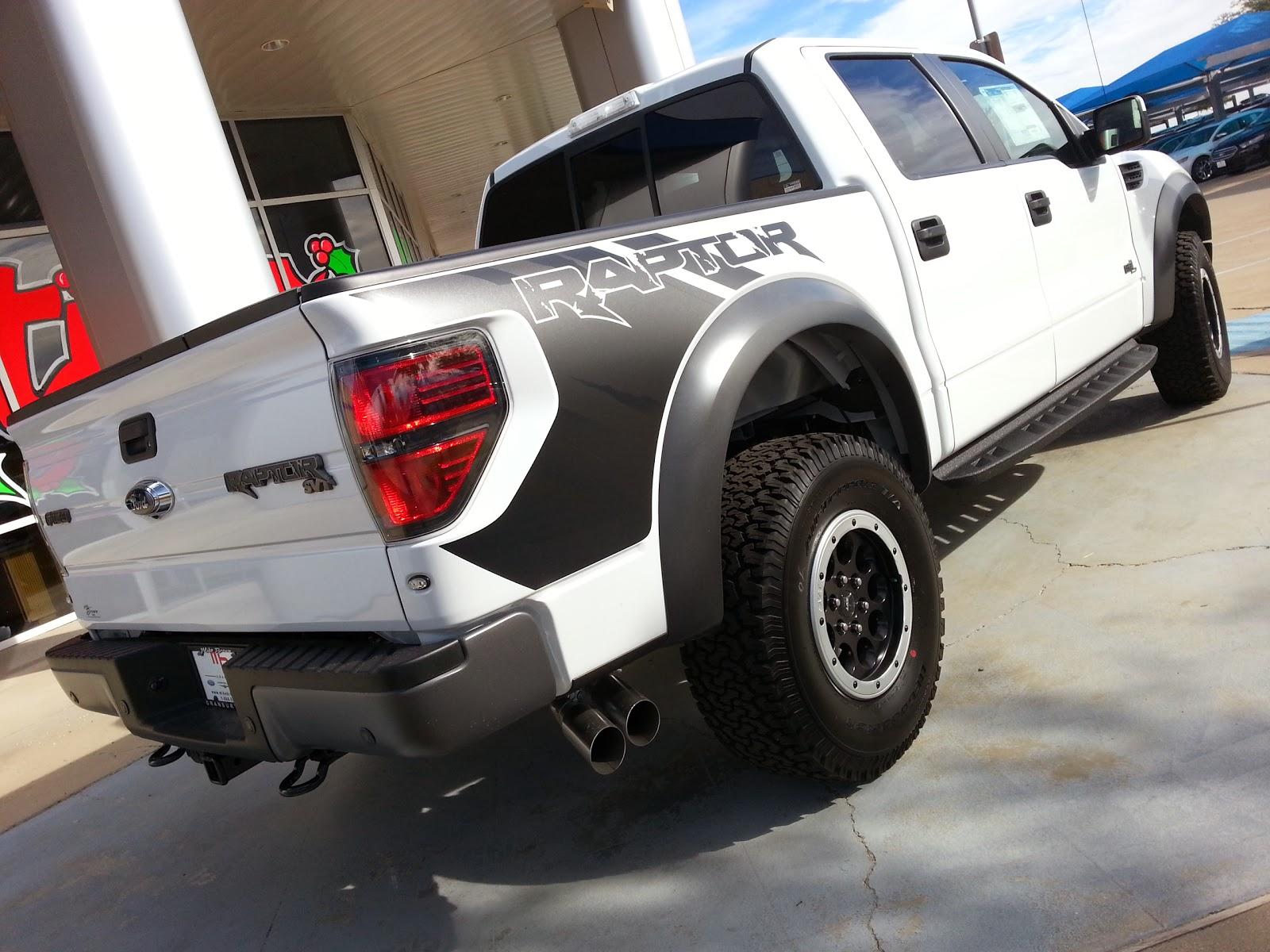 Msrp 58 695 new white 2014 ford svt raptor f150 supercrew