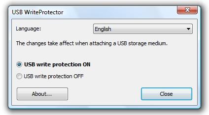 Write Protect USB Flash Drive