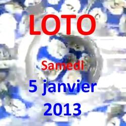 Résultat du LOTO - tirage du samedi 5 janvier 2013