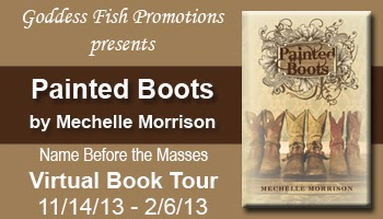 http://goddessfishpromotions.blogspot.com/2013/09/nbtm-tour-painted-boots-by-mechelle.html