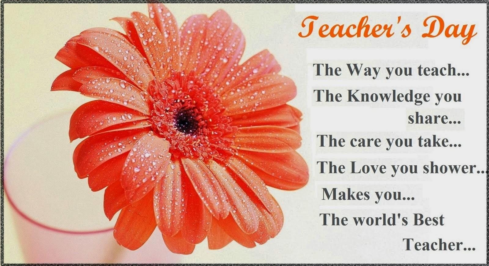 Teacher s Day 2015 - Information, Date, Celebrations