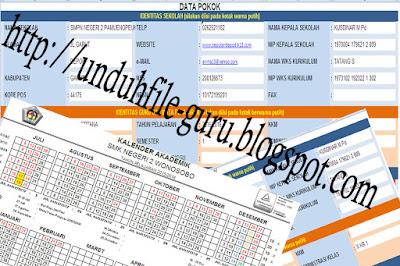 [File Excel] Aplikasi Format Administrasi Guru