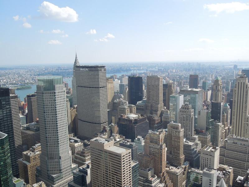Rockefeller Center obscured Chrysler Building view