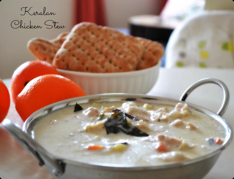 Chicken Stew {Kerala style}