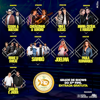 Grade de Shows 37º Fipe