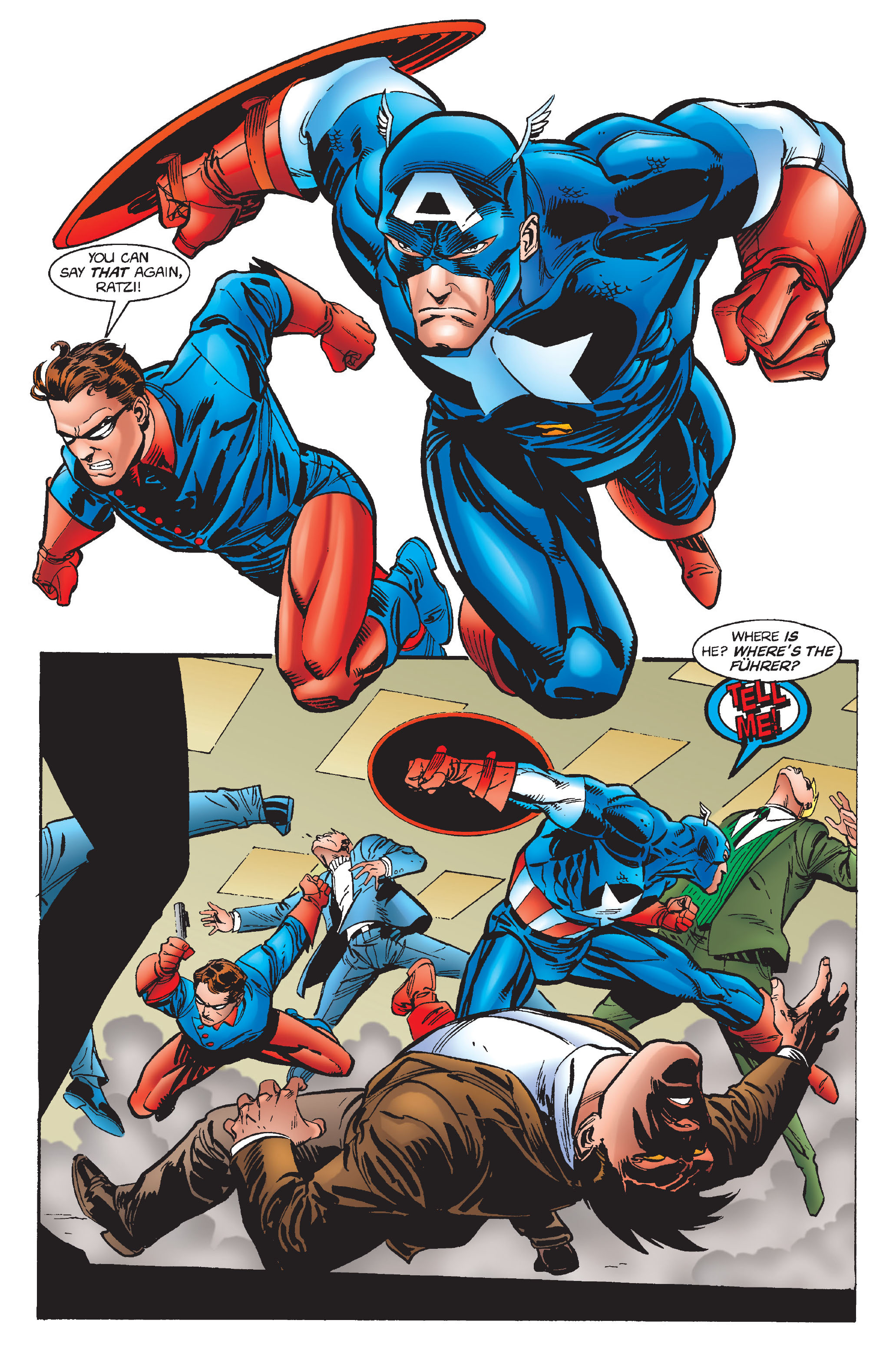 Captain America (1968) Issue #448 #402 - English 14