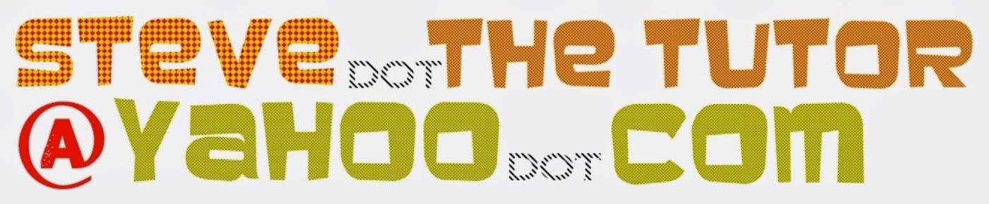http://tutorsteve.blogspot.com/