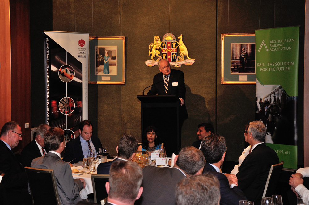 Speeches, annual dinner, railway engineers at Parliament House Sydney. Unique Sydney Event Photography