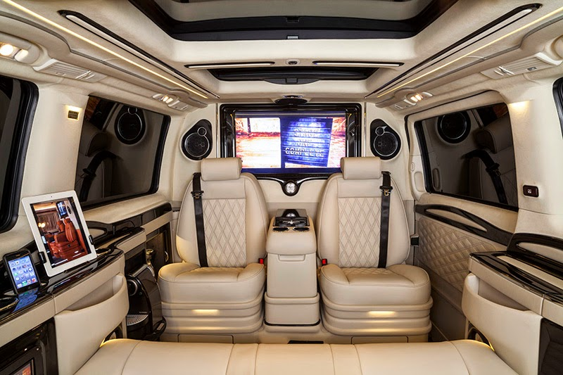 modifikasi interior mobil vw combi