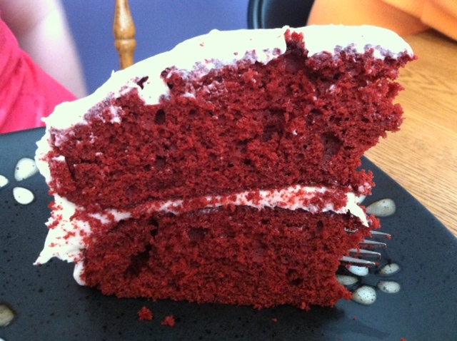 ... Wench: Red Velvet Cake with White Chocolate Cream Cheese Frosting