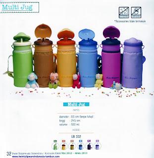 multi jug tulipware 2013