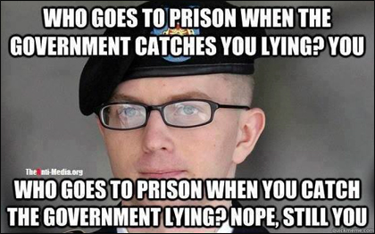Bradley Manning Meme: Who Goes to Prison?
