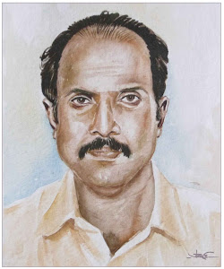 A Portrait study of my friend Padmakumar