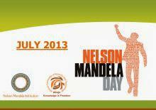 Mandela Day 2013: Tomar medidas, inspirar el cambio y hacer de cada día un Día de Mandela