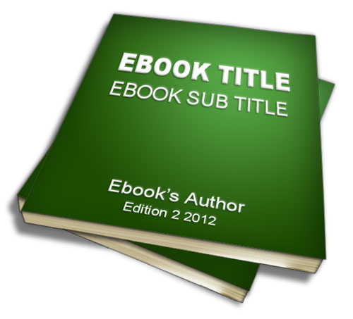 Ebook Cover Template. create your free ebook cover with this 3d ...