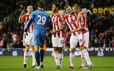 Stoke City 7 - 6 Tottenham Hotspurs (3)
