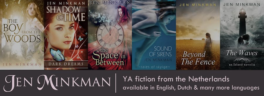 Jen Minkman - YA Paranormal and Dystopian Author