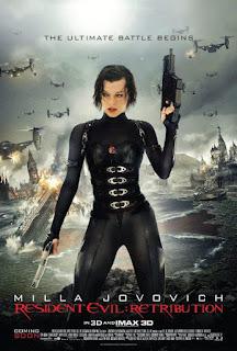 """Poster do filme """"Resident Evil 5: Retribuição"""""""
