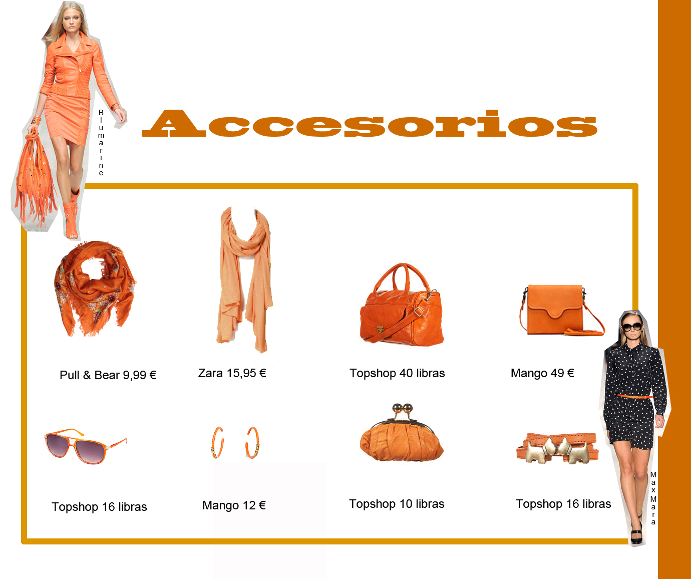 Le petit closet colores frutales de temporada ii naranja for Accesorios bano color naranja