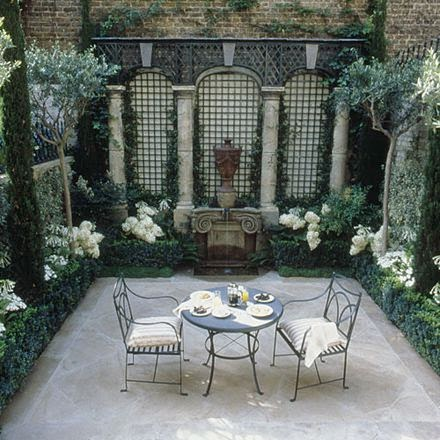 All about vignettes what 39 s your patio style for Whats a terrace