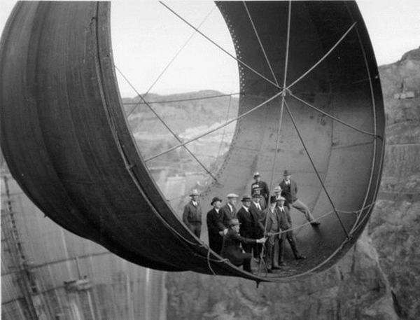 Hoover Dam, 1931-36
