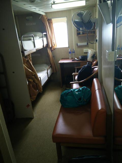 Room in M.V. Kavaretti