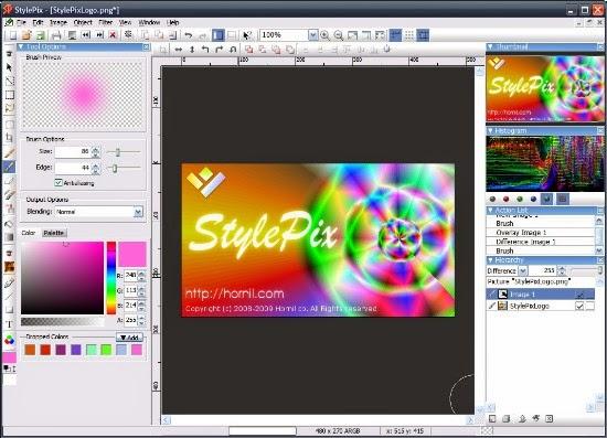 برنامج stylepix 2014 لتحرير الصور اخر اصدار