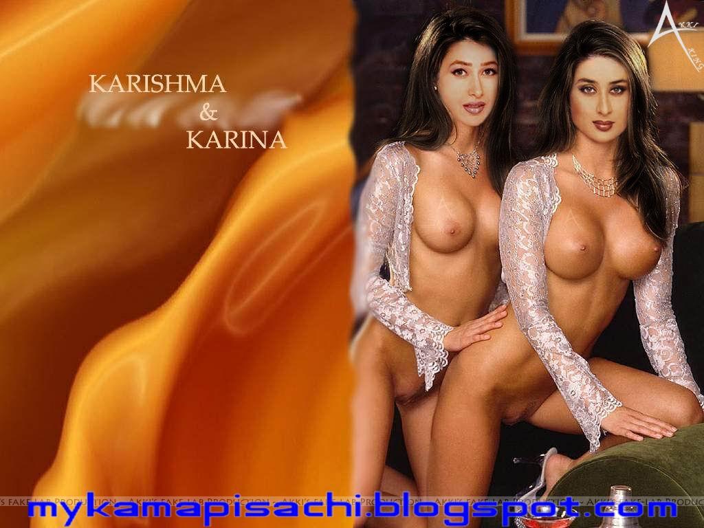 Thumbnail Image Kareena Karishma Kapoor Showing Boobs And Pussy Fake