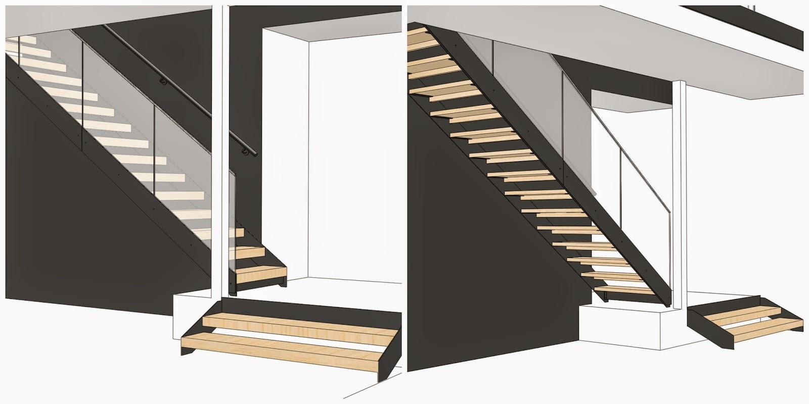 Puuta ja kiveä -raksablogin portaiksi valikoitui Grado LUMO -teräsportaat