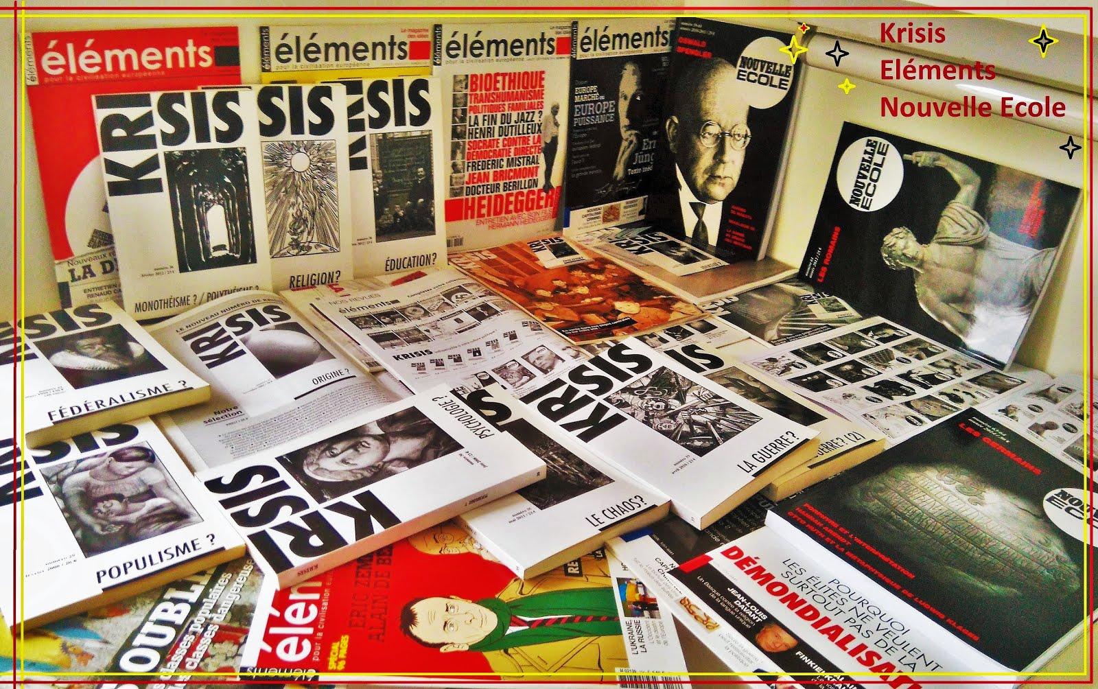 Nos publications, nos actualités.. via Eléments.