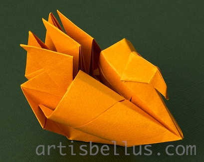 Turkey New Origami Model And Video Origami Artis Bellus
