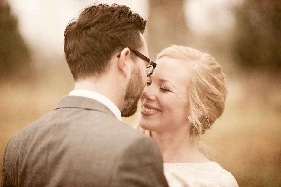 Bryllupsbilder fra høstbryllup, Fotograf Trine Bjervig, Tønsberg