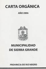 Carta Organica Municipalidad de Sierra Grande
