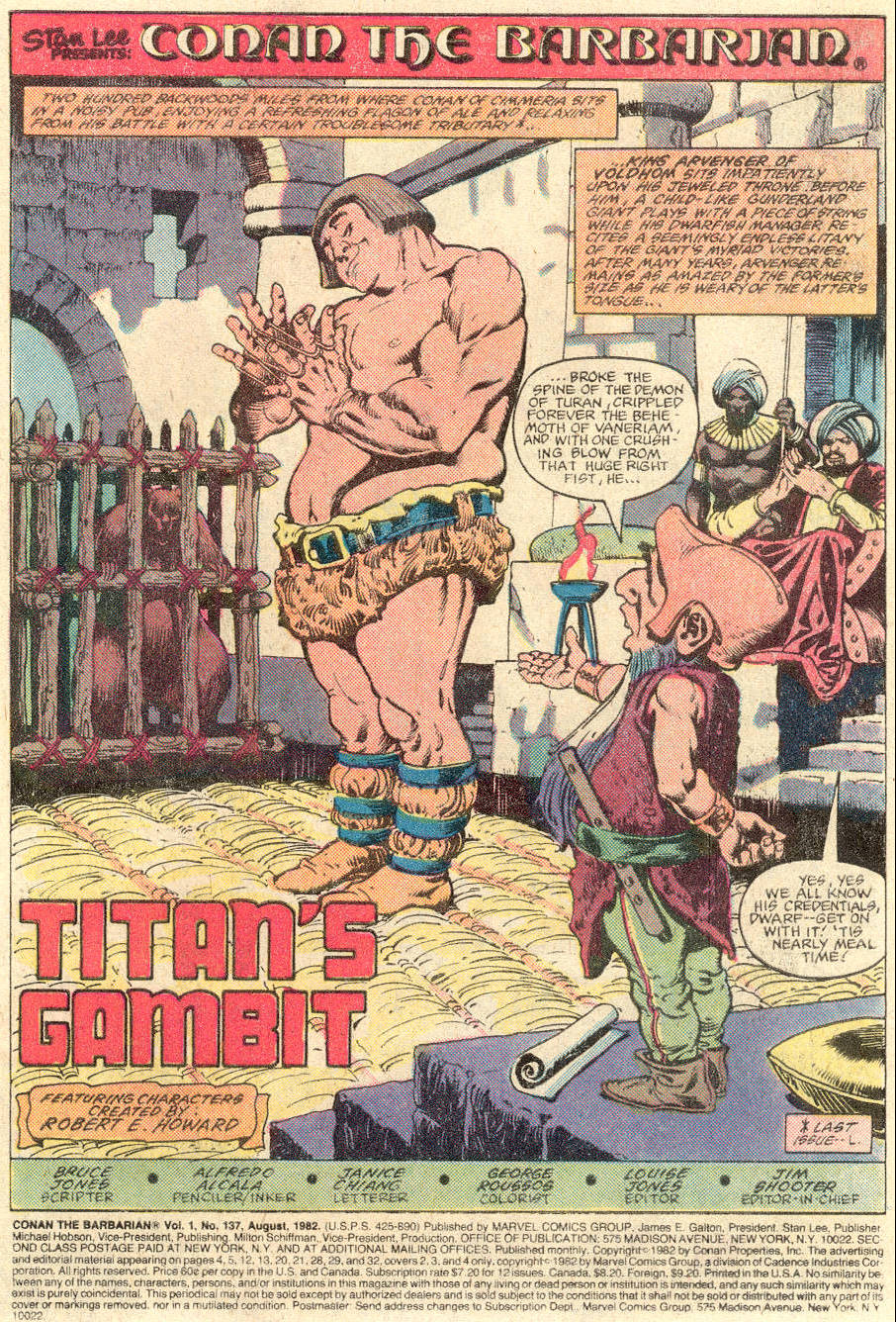 Conan the Barbarian (1970) Issue #137 #149 - English 2