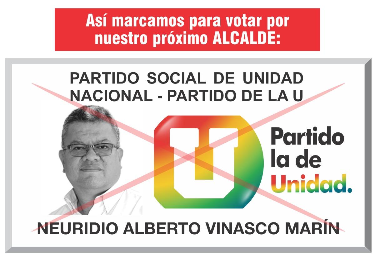 CANDIDATO ALCALDÍA DE QUINCHÍA