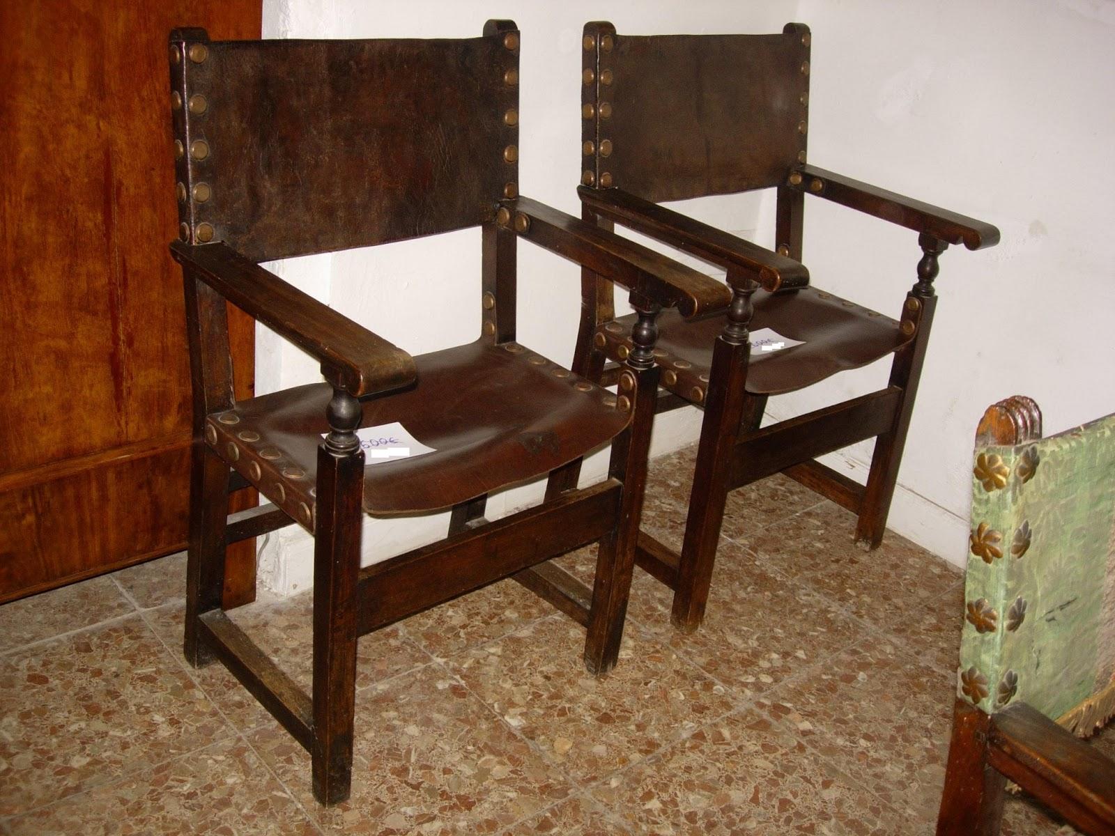Antig edades fern ndez muebles mesas sillas - Muebles siglo xviii ...