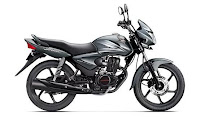 2012 Honda CB Shine Monsoon Grey Metallic