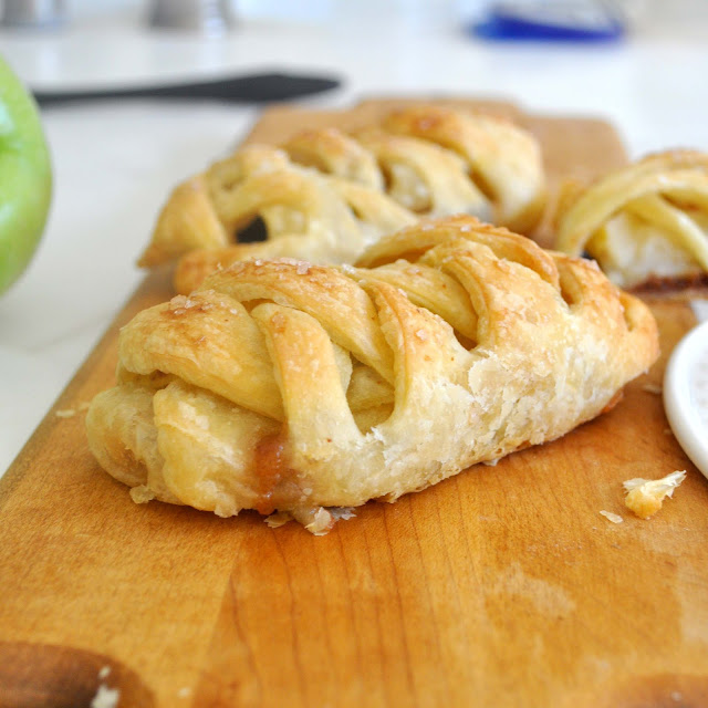 Cooking with Manuela: Easy-to-Make Apple Strudel Braids