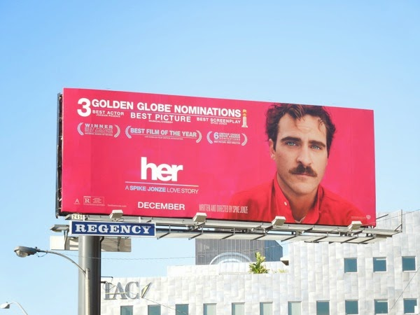 Her movie billboard